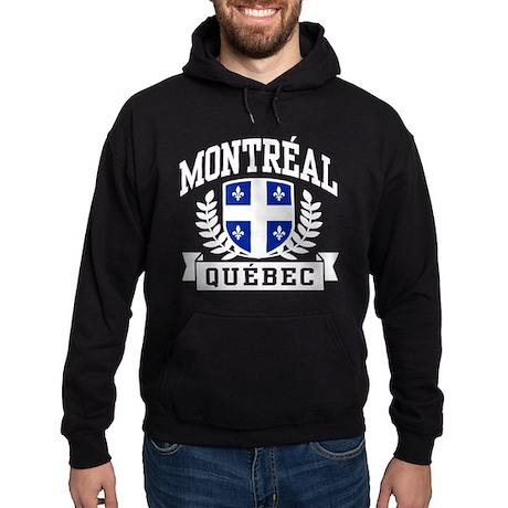 Montreal Quebec Hoodie (dark)