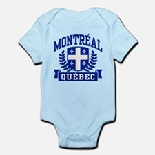 Montreal Quebec Infant Bodysuit