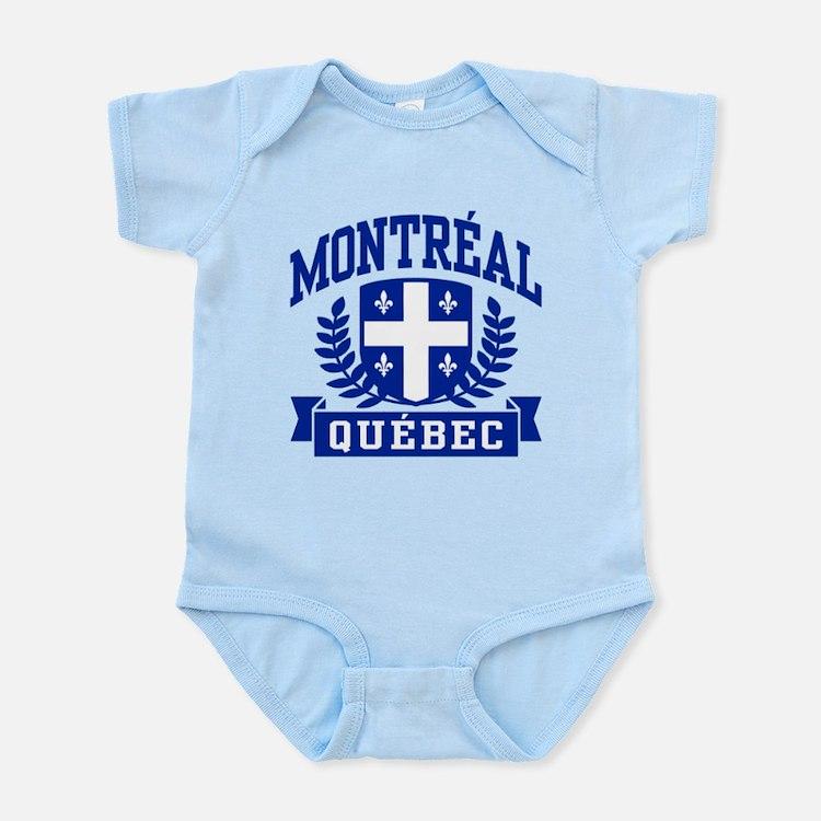 Montreal Quebec Infant Bodysuit