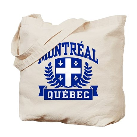 Montreal Quebec Tote Bag