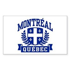 Montreal Quebec Decal