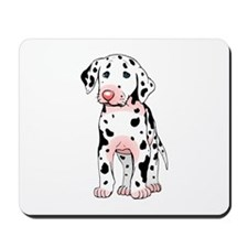 Dalmatian Puppy Cartoon Mousepad