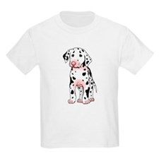 Dalmatian Puppy Cartoon Kids T-Shirt