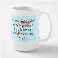 Retired Nurse Story Art Mug