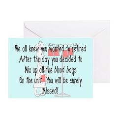 Retired Nurse Story Art Greeting Card
