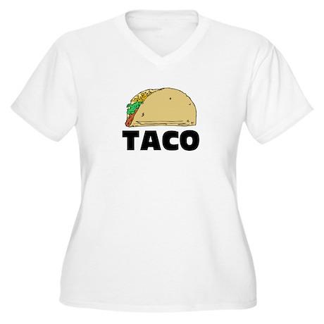 Taco Women's Plus Size V-Neck T-Shirt