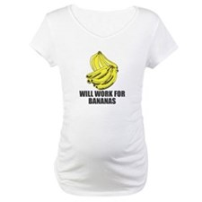Will Work for Bananas Shirt