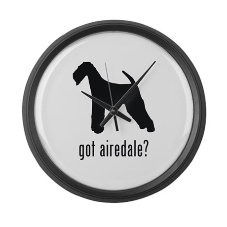 Airedale 2 Large Wall Clock