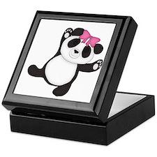 Happy Panda Keepsake Box