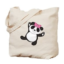 Happy Panda Tote Bag