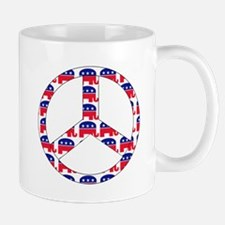 Republican Peace Sign Mug