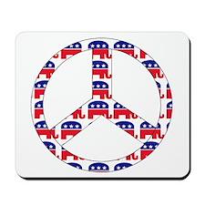 Republican Peace Sign Mousepad