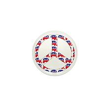 Republican Peace Sign Mini Button (10 pack)