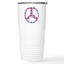 Republican Peace Sign Travel Coffee Mug
