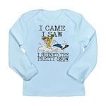 I came, I saw Long Sleeve Infant T-Shirt