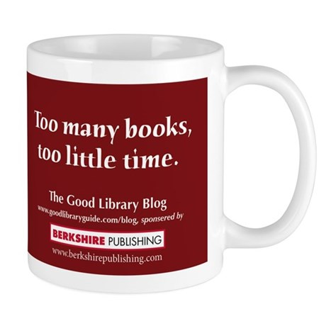 """Too many books, too little time."""