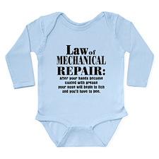 Law of Mechanical Repa Long Sleeve Infant Bodysuit