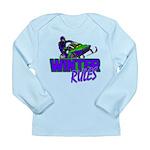 Winter Rules Long Sleeve Infant T-Shirt