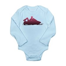 Snowboots Long Sleeve Infant Bodysuit