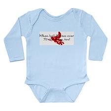 When hell freezes over Long Sleeve Infant Bodysuit
