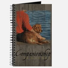 Cute Golden retriever lovers Journal