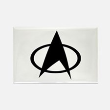 Star Trek Logo Rectangle Magnet