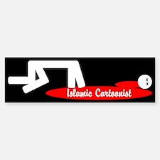 Mohammed Cartoon Bumper Bumper Bumper Sticker