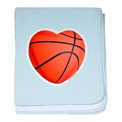 Basketball Love Infant Blanket