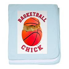 Basketball Chick 2 Infant Blanket