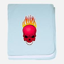 Skull Dodgeball Infant Blanket