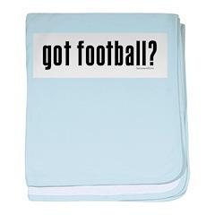 got football? Infant Blanket