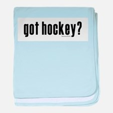 got hockey? Infant Blanket
