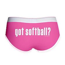 got softball? Women's Boy Brief