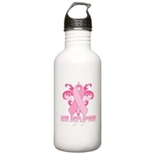 Everyday Pink Ribbon Water Bottle