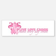 Everyday Pink Ribbon Sticker (Bumper)