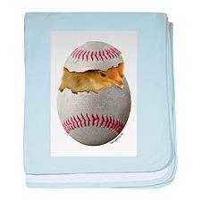 Softball Chick Infant Blanket