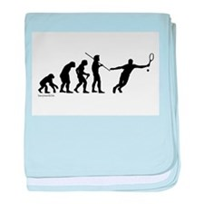 Tennis Evolution Infant Blanket