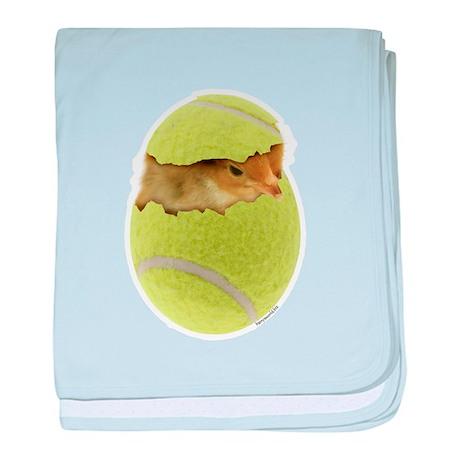 Tennis Chick Infant Blanket