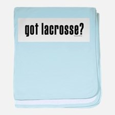got lacrosse? Infant Blanket