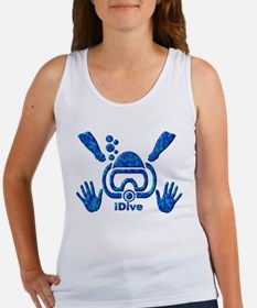 iDive Blue Sea 2010 Women's Tank Top