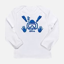iDive Blue Sea 2010 Long Sleeve Infant T-Shirt