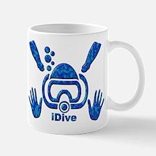 iDive Blue Sea 2010 Mug