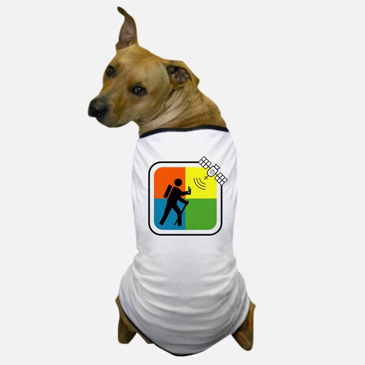 GeoCacher Dog T-Shirt