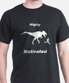Motivation T Rex and Running T-Shirt
