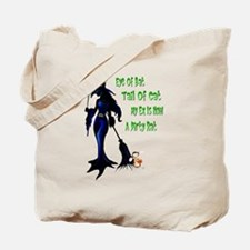 WITCH and Rat Halloween Shirt Tote Bag