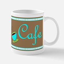 Retro funky Cafe Coffee Mug