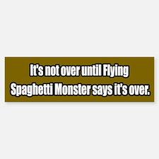 Flying Spaghetti Monster Bumper Bumper Bumper Sticker