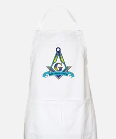 Masonic Faith, Hope, Charity BBQ Apron