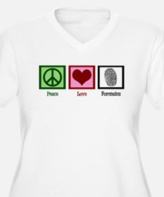 Peace Love Forensics T-Shirt