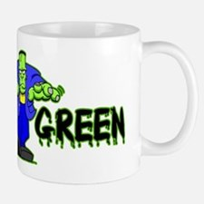 Go Green Frankensteing Body Mug
